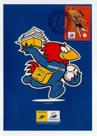 - Carte Postale COUPE DU MONDE DE FOOTBALL FRANCE 98 - Equipe De LENS - - World Cup