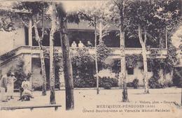 Cpa -01-meximieux Perouges-Pas Sur Delc.-animée-grand Boulodrome, Veranda Michel Raidelet -edi Vialatte - Other Municipalities
