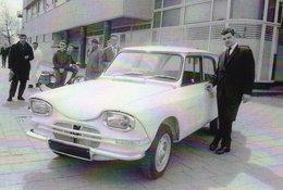 Nouvelle Citroen Ami 6 En 1961  -  CPM - Voitures De Tourisme