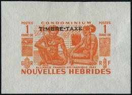 N° 144/54, + Taxe 26/30, Séires Poste Et Taxe, 16 Valeurs épreuves Dans La Couleur Définitive, T.B. Rare - Francobolli