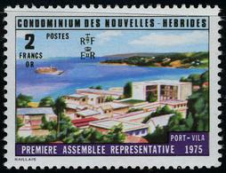Neuf Sans Charnière N° 433a/34a, La Paire Légende Assemblée Représentative, TB - Francobolli