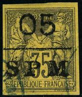 Oblitéré N° 9, 05 Sur 35c De 1878, T.B. - Francobolli