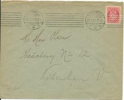 Norway Cover Sent To Denmark Stavanger 27-4-1907 - Norway