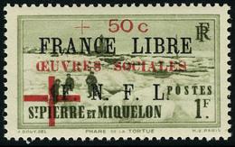 Neuf Sans Charnière N° 310/11, Les 2 Valeurs France Libre, T.B. - Francobolli