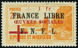 Neuf Avec Charnière N° 310/11, Les 2 Valeurs France Libre, T.B. - Francobolli