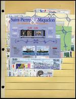 Neuf Sans Charnière Collection Complète Des Années1986 à 1999,  Du N° 455 Au N° 705 (sauf N° 504/07) + PA N° 64 à 79, T. - Non Classificati