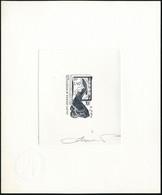N°473. 1f40 La Pêche. Epreuve D'artiste En Gris-noir, Signée Par Le Graveur, Avec Cachet à Sec De Contrôle. T.B. - Francobolli