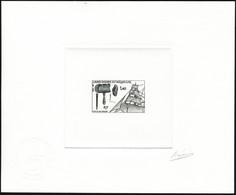 N°535. 1f40 Outils De Voilier. Epreuve D'artiste En Noir, Signée Rajewicz. Cachet à Sec De Contrôle. T.B. - Francobolli