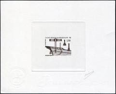 N° 561, 1f50 Outils De Calfat, épreuve D'artiste En Brun Foncé, Signée, T.B. - Francobolli