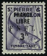 Neuf Avec Charnière N° 57/66, La Série France Libre, T.B. - Francobolli