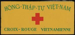 Neuf Sans Charnière N° 17, Croix Rouge, Carnet Complet De 20ex Gomme Coloniale, T.B. - Francobolli