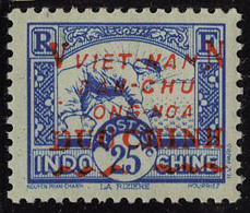 Neuf Sans Charnière N° 59, 25c Bleu T.B. - Francobolli