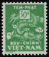 Neuf Sans Charnière N° 12a, 30pi Vert, Jaune Omis, T.B. - Francobolli