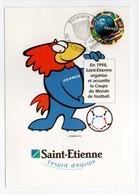 - Carte Postale COUPE DU MONDE DE FOOTBALL FRANCE 98 - SAINT-ETIENNE - - World Cup