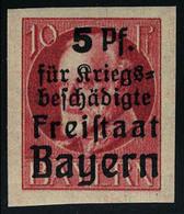 Neuf Sans Charnière N° 171B, 5p Sur 10pf Rouge ND, T.B. - Francobolli