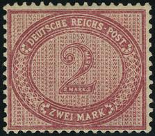 Neuf Avec Charnière N°43. 2m Trubosalila (Michel 37c). Légère Froissure Sinon T.B. Certificat Wiegand. - Francobolli