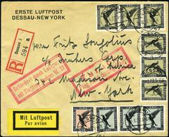 Lettre N° 32/34, Aigle 3M X 6 Exemplaires + 2M X 3 Exemplaires + 1M, Affranchissement à 25M Sur Lettre, PA Vol Spécial P - Francobolli