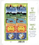 Red De Aarde,     Sauvez La Planète  2010 - Postzegelboekjes 1953-....