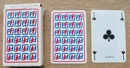 JEU DE 52 CARTES ET 2 JOKER AVEC ETUI PF / EDITIONS DUSSERRE PARIS HERON MAITRES CARTIERS BOECHAT MADE IN FRANCE - Cartes à Jouer Classiques