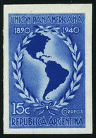Neuf Sans Gomme N° 412, Cinquantenaire De L'Union Panaméricaine, ND, émis Sans Gomme, T.B. - Francobolli
