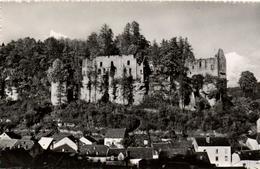 1 Cpsm Larochette - Les Ruines Du Château Féodal - Larochette