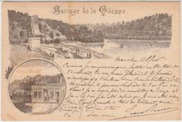 28403g  CAFE RESTAURANT - Barrage De La Gileppe - 1895 - Gileppe (Barrage)