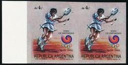 Neuf Sans Charnière N° 1634, JO De Séoul 1988, Tennis, Paire Horizontale, ND, T.B. - Francobolli