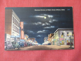 Sherman Avenue   Street Night View  Idaho > Coeur D'Alene> Ref 3156 - Coeur D'Alene