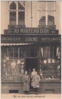 28413g  QUINCAILLERIE - OUTILLAGES - AU MARTEAU D'OR - J. DAEMS - 60 Rue HAUTE - Bruxelles - Brussel (Stad)