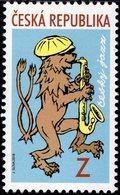 Czech Republic - 2018 - Czech Jazz - Mint Stamp - Tchéquie