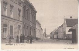 Moerbeke - Dorpsstraat - Rue Du Village - Geanimeerd - Uitg. Vanden Bosch - Moerbeke-Waas