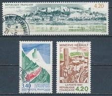 France - Série Touristique 1993 - YT 2816-2818 Obl. - France