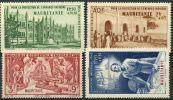 Mauritanie (1942) PA N 6 à 9 * (charniere) - Mauritanie (1906-1944)