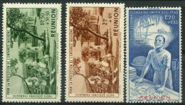 Reunion (1942) PA N 7 à 9 * (charniere) - Réunion (1852-1975)