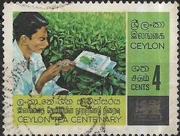 CEYLON 1967 Centenary Of Ceylon Tea Industry - 4c Field Research FU - Sri Lanka (Ceylon) (1948-...)