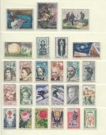 FRANCE  ( FAC- 30 )  1962  N° YVERT ET TELLIER  N° 1325/1367  N** - Francia