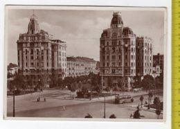 1936 MILANO Piazzale Piemonte I Grattacieli FG V SEE 2 SCANS Animata Autobus Pubblicità BIRRA ITALIA - Milano
