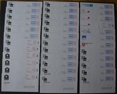"""276 Pap-réponse Neufs Dont 158 N° De Verso Différents """"luquet Lamouche Beaujard Ciappa Merci"""" Poids 1,2kg Sans Emballage - Entiers Postaux"""