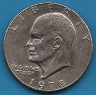USA 1 DOLLAR 1978 Eisenhower Dollar KM# 203 - Federal Issues