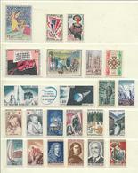 FRANCE  ( FAC- 31 )  1965  N° YVERT ET TELLIER  N° 1435/1467  N** - Francia