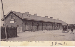 Gouvy - La Station - Animé - 1901 - Edit. L. Duparque, Florenville N. 1976 - Bahnhöfe Ohne Züge
