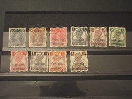 GWALIOR - 1940/9 RE 10 VALORI, Insieme/set - TIMBRATItUSED - Gwalior