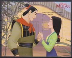 2478  WALT DISNEY   THE GAMBIA   MULAN  . - Disney