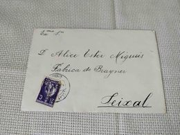 PORTUGAL CIRCULATED COVER CARRASCOS TO SEIXAL 1914 - 1910-... République