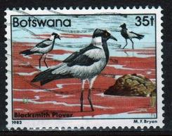 Botswana 1982 Single 35t Commemorative Stamp From The Birds Set. - Botswana (1966-...)