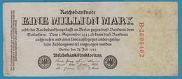 DEUTSCHES REICH 1.000.000 Mark 25.07.1923 Serial# B.2695462 P# 94 Reichsbank - [ 3] 1918-1933 : Weimar Republic