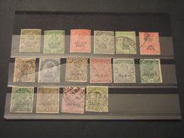 JHIND - 1913/37 RE 16 VALORI, Insieme/set - TIMBRATI/USED-NUOVI(+) - Jhind
