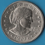 "USA 1 DOLLAR 1979 P ""Susan B. Anthony Dollar"" - 1979-1999: Anthony"