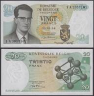 Billet De 20 Francs 15/06/64 - Neuf ( FDC) (DD) DC1994 - Belgique