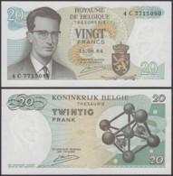 Billet De 20 Francs 15/06/64 - Neuf ( FDC) (DD) DC1995 - Belgio